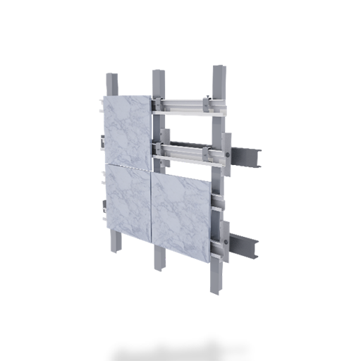 Back Ventilated facade system